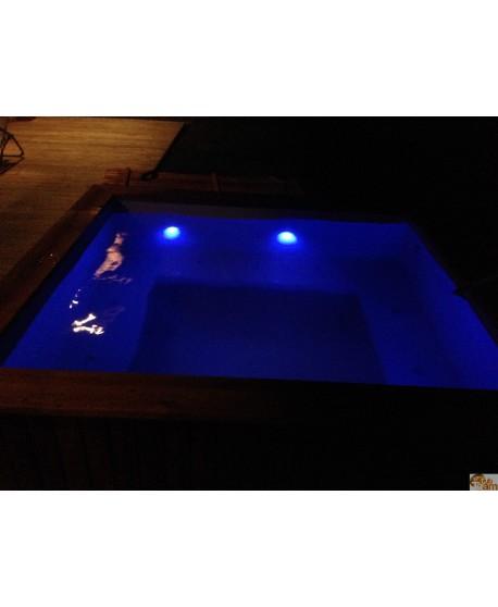 D'éclairage à LED pour bain nordiques