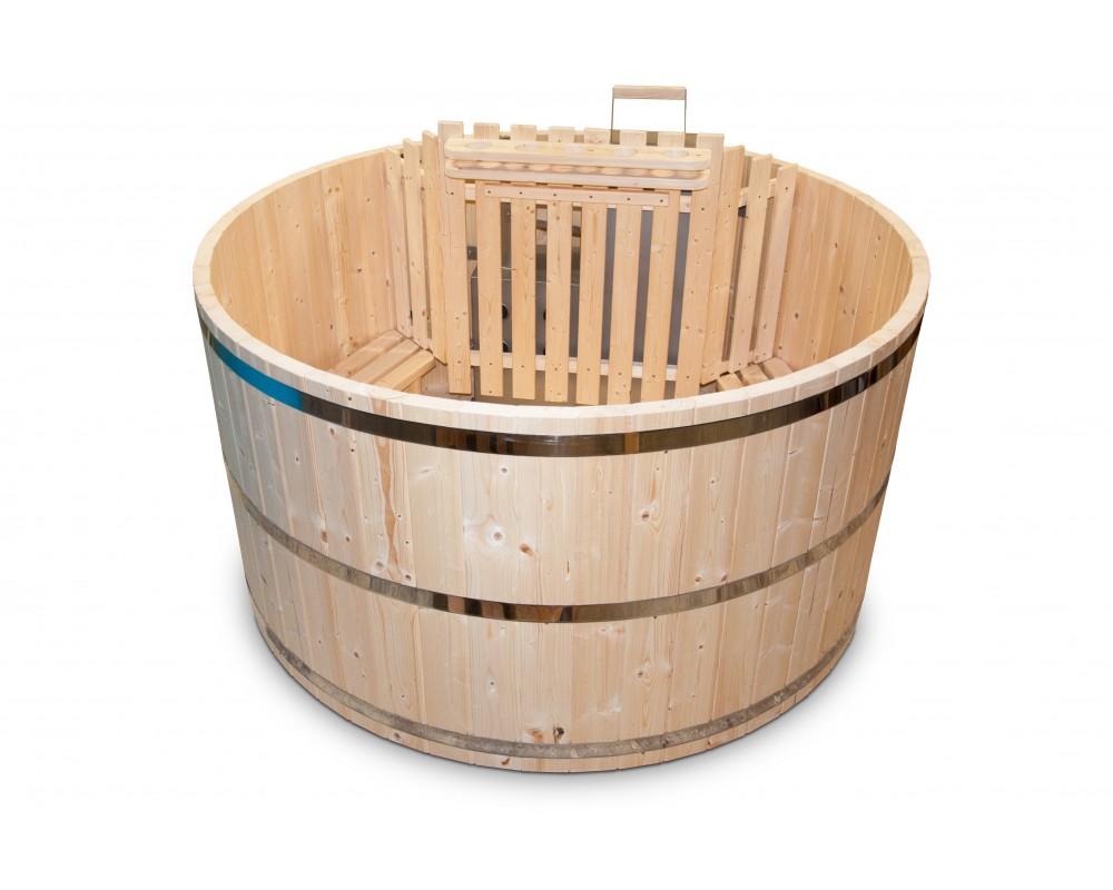 bain nordique en bois spa en bois. Black Bedroom Furniture Sets. Home Design Ideas