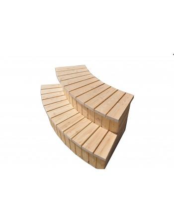 Escaliers pour bain de type A