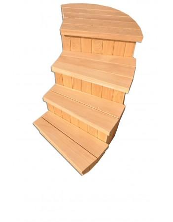 Escaliers pour bain de type C