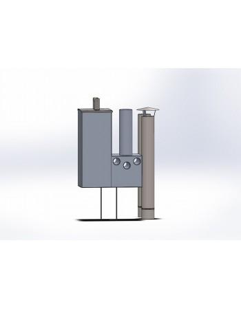 Aliumininė vidinė krosnelė 14 kW