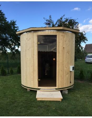 Saunas Extérieur Tonneau