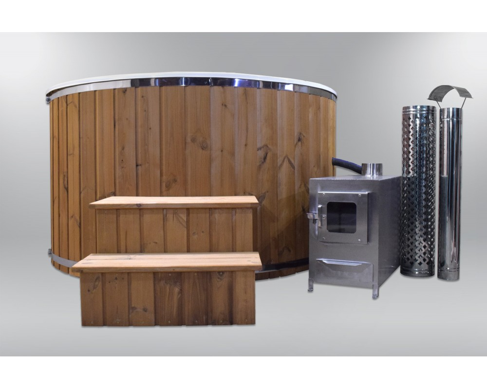 bain remous exclusif en fibre de verre de 180 cm avec seuil en fibre de verre et couvercle. Black Bedroom Furniture Sets. Home Design Ideas