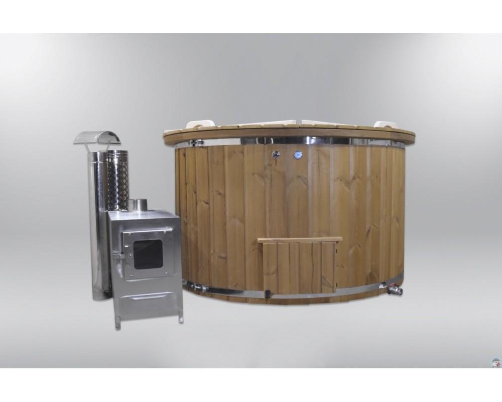 Bain à remous en fibre de verre agréable et confortable 160cm
