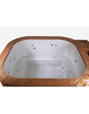 Piscine de massage spa