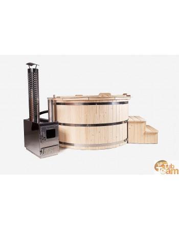 Spa en bois d'épicéa