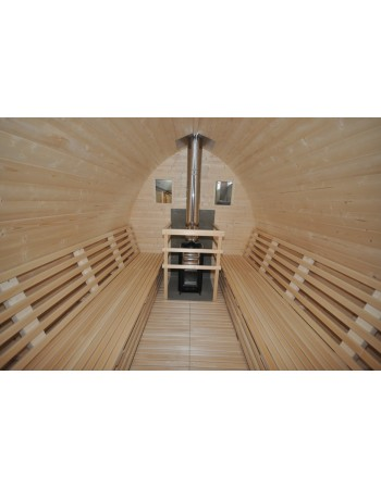 Sauna Extérieur Igloo design