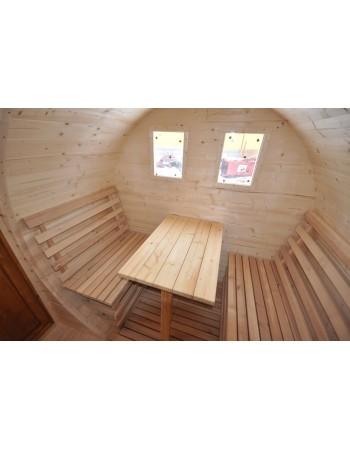 Sauna extérieur pour de jardin