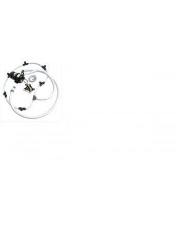 Burbulų masažo sistema